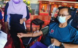 An act of love and kindness through a pint of blood